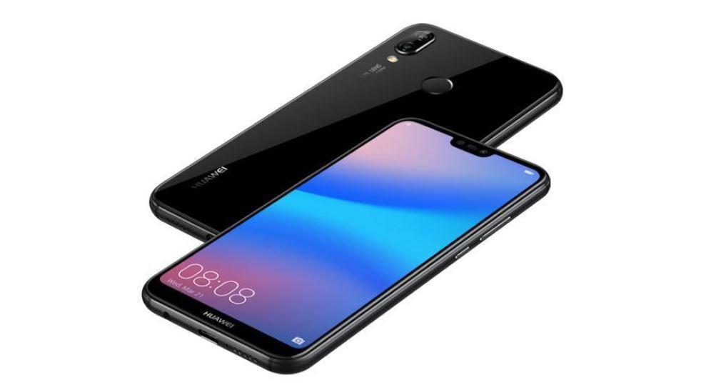 Aacabado del Huawei P20 Lite de color negro