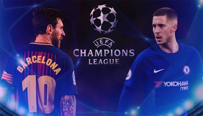 Partido Barcelona Chelsea de Champions