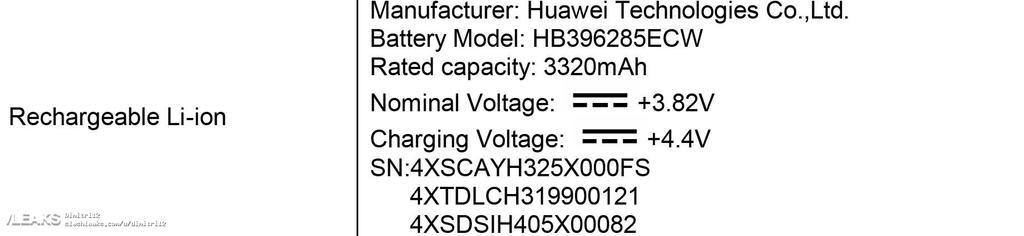 Carga de la batería Huawei P20 en las FCC