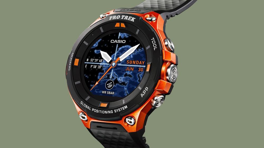Smartwatch Casio Pro Trek WSD-F20SC-BK