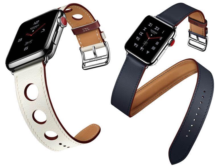 Nuevas correas Apple Watch de silicona y piel
