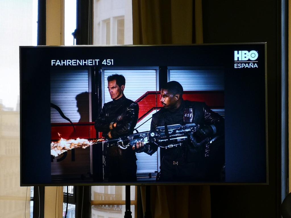 Película Fahrenheit 451 en HBO España