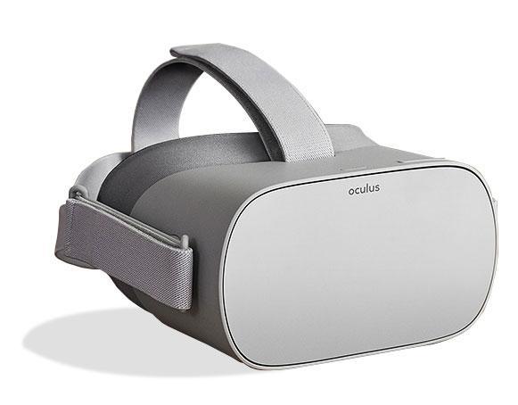 Diseño de las gafas Oculus Go