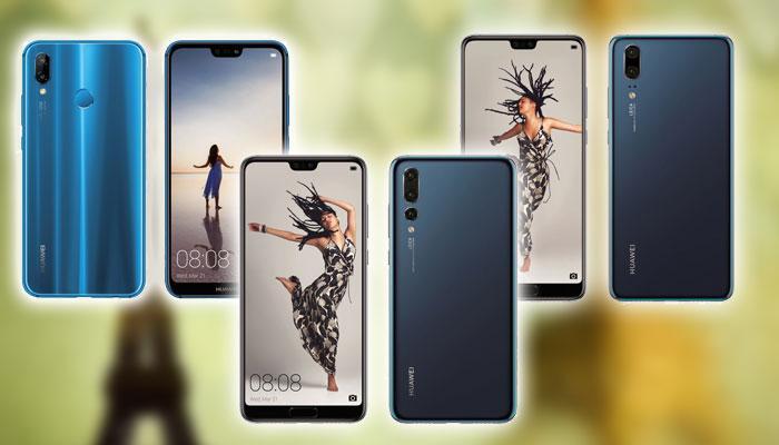 Nuevos Huawei P20