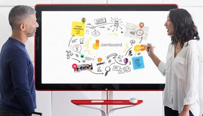 Pizarra colaborativa Google Jamboard