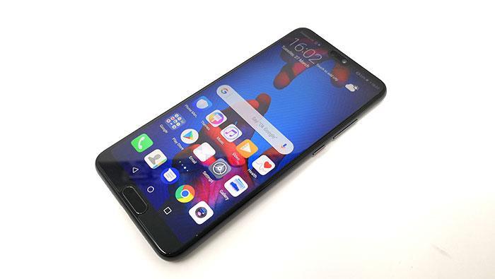Aspecto del Huawei P20