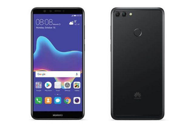 Diseño del Huawei Y9 2018