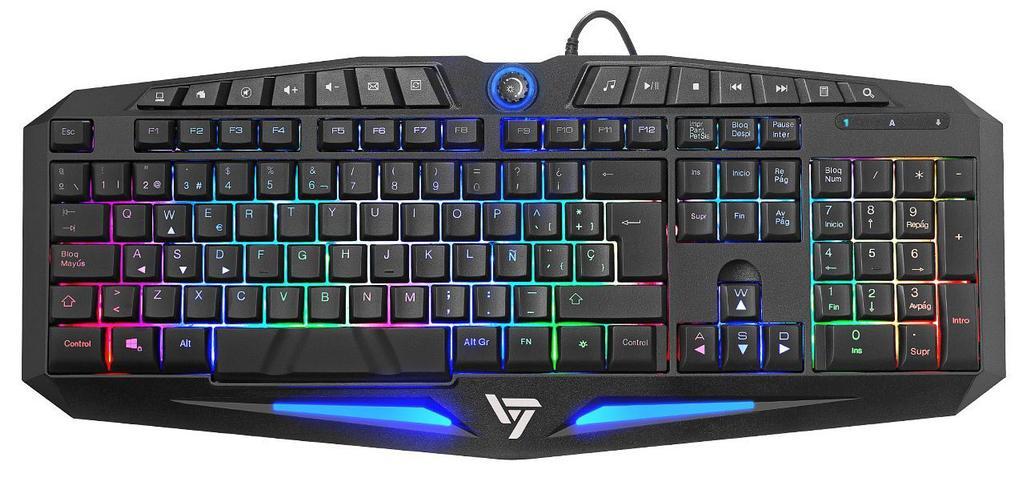 Imagen del teclado para jugar VicTsing
