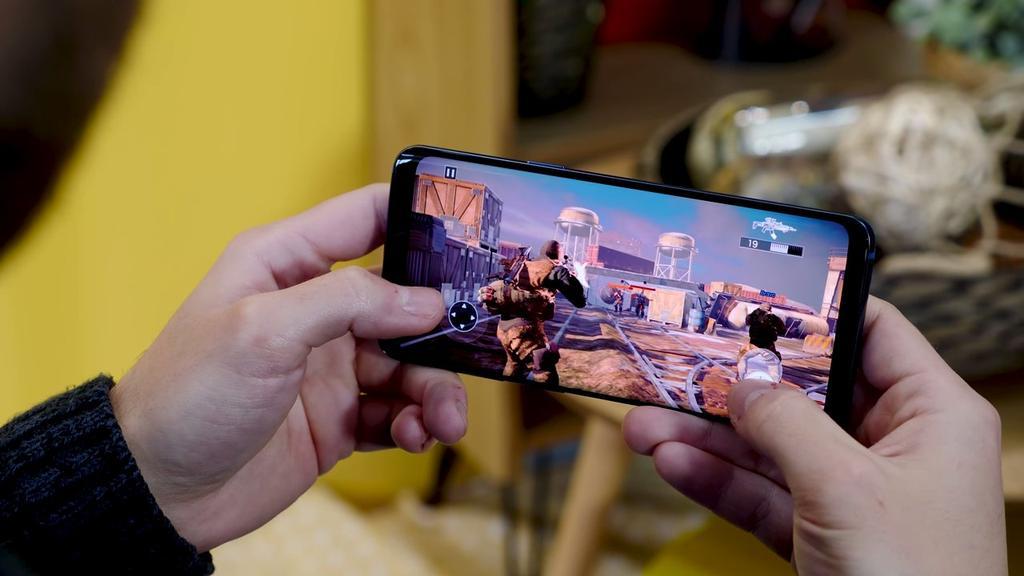 Juego en el Samsung Galaxy S9