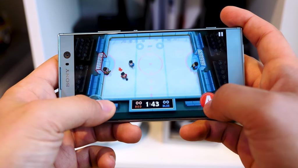 Ejecución de juego en el Sony Xperia XA2
