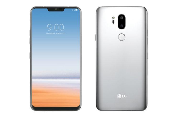 Posible diseño del LG G7