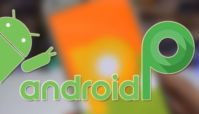 Logotipo de Android P