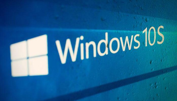 Logotipo de Windows 10 S