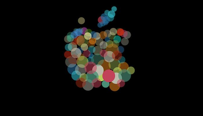 Logo de colores de Apple
