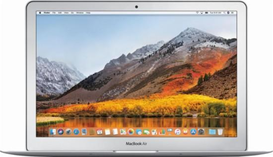 Imagen frontal del MacBook Air