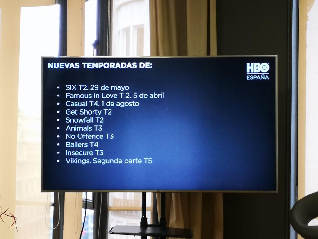 Nuevas temporadas que llegan a HBO España