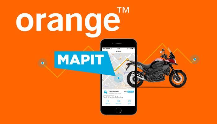 Orange y Mapit en motos Honda