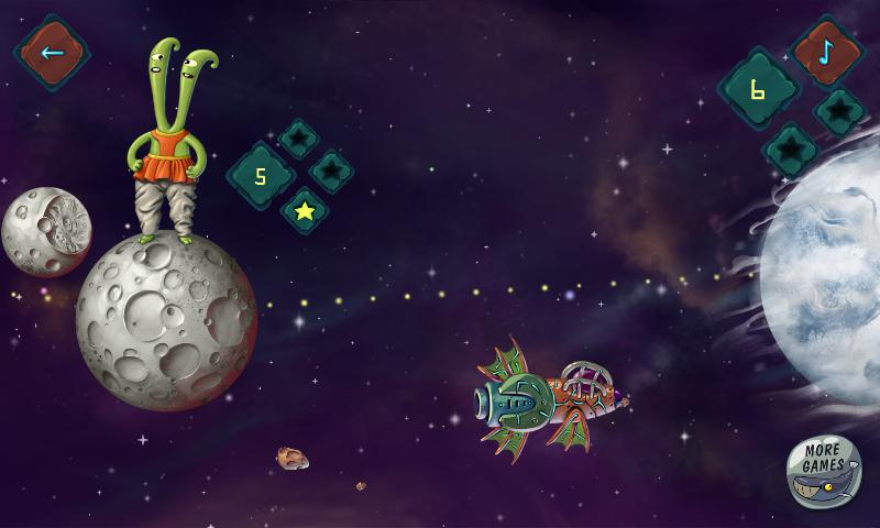 Juego Android Planetarix