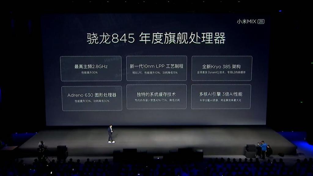 Procesador Xiaomi Mi Mix 2S Snapdragon 845