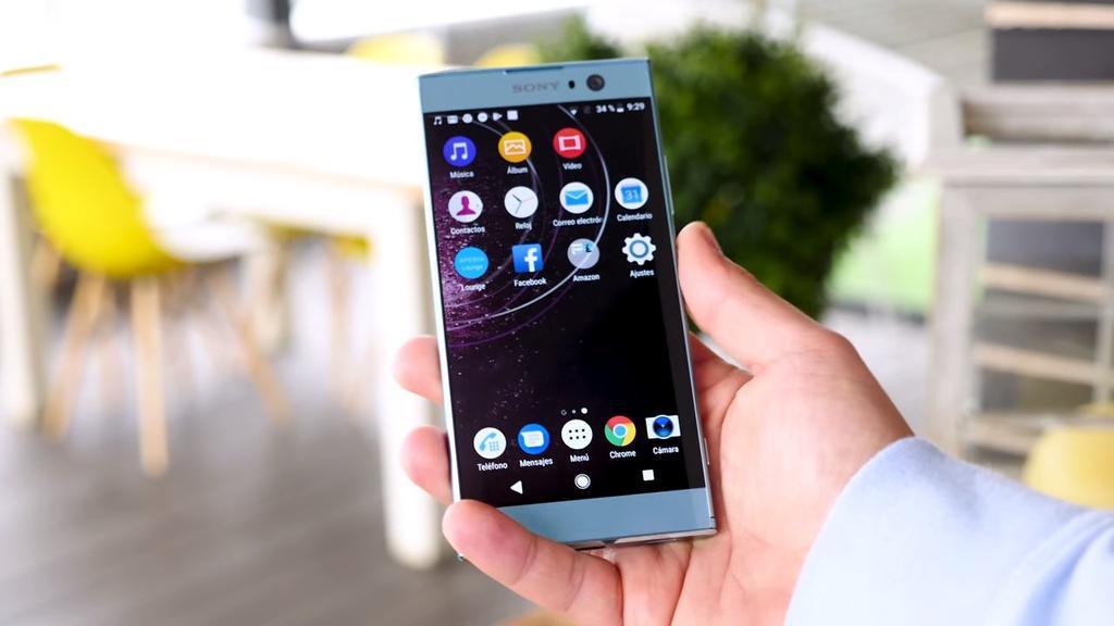 Uso del Sony Xperia XA2