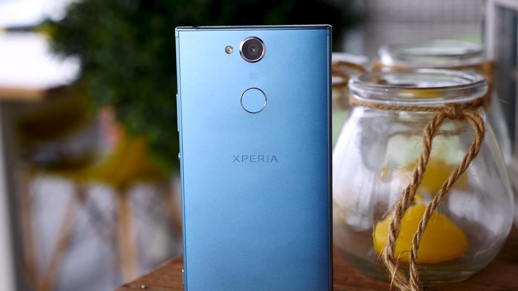 Imagen trasera del Sony Xperia XA2
