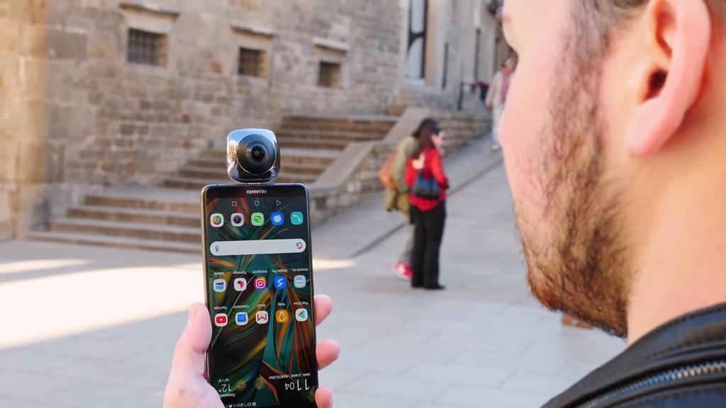 Uso de la cámara Huawei EnVizion 360