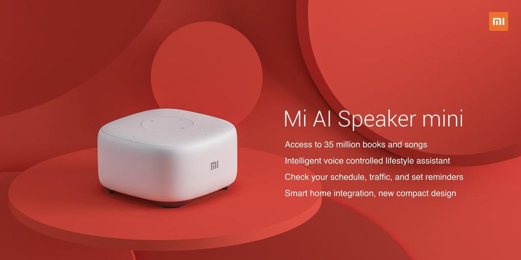 Nuevo altavoz inteligente Xiaomi Mi AI Speaker mini