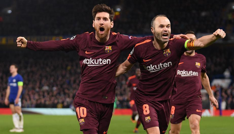Gol del Barcelona al Chelsea