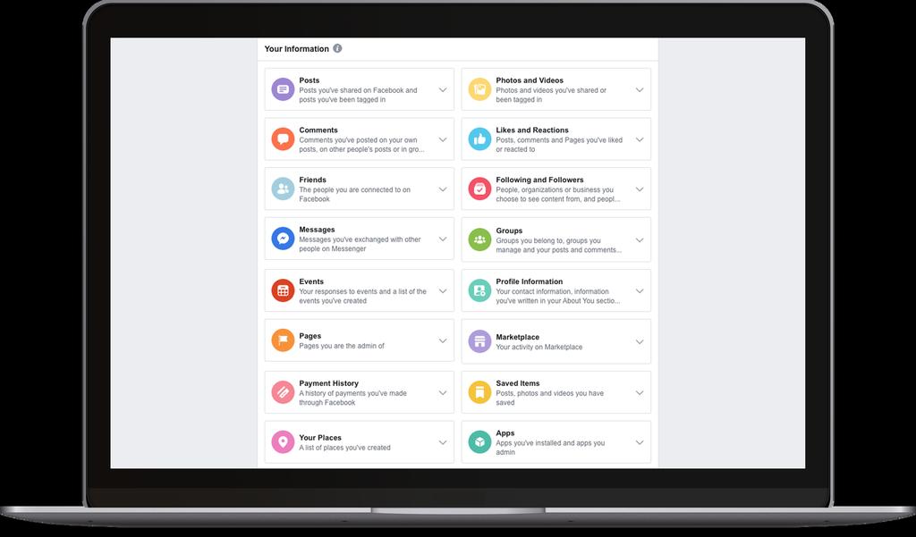 Opciones privacidad nuevas en Facebook