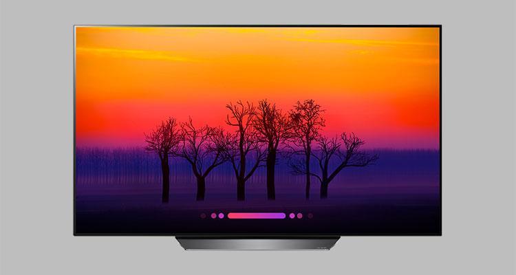 televisores LG OLED de 2018