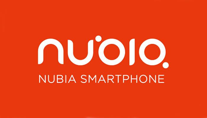 Logotipo de la compañía Nubia