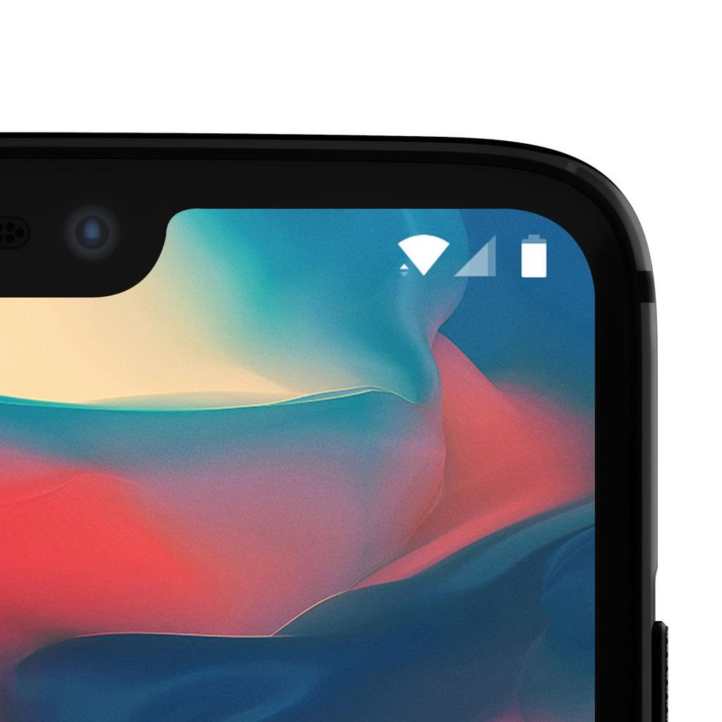 Notch del OnePlus 6