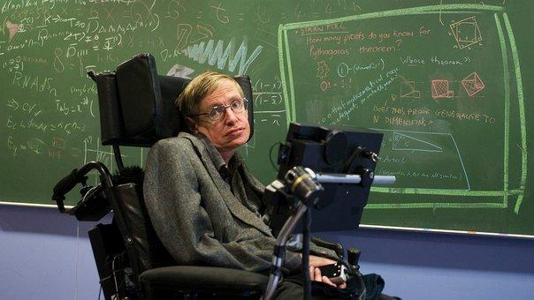 Imagen del científico Stephen Hawking