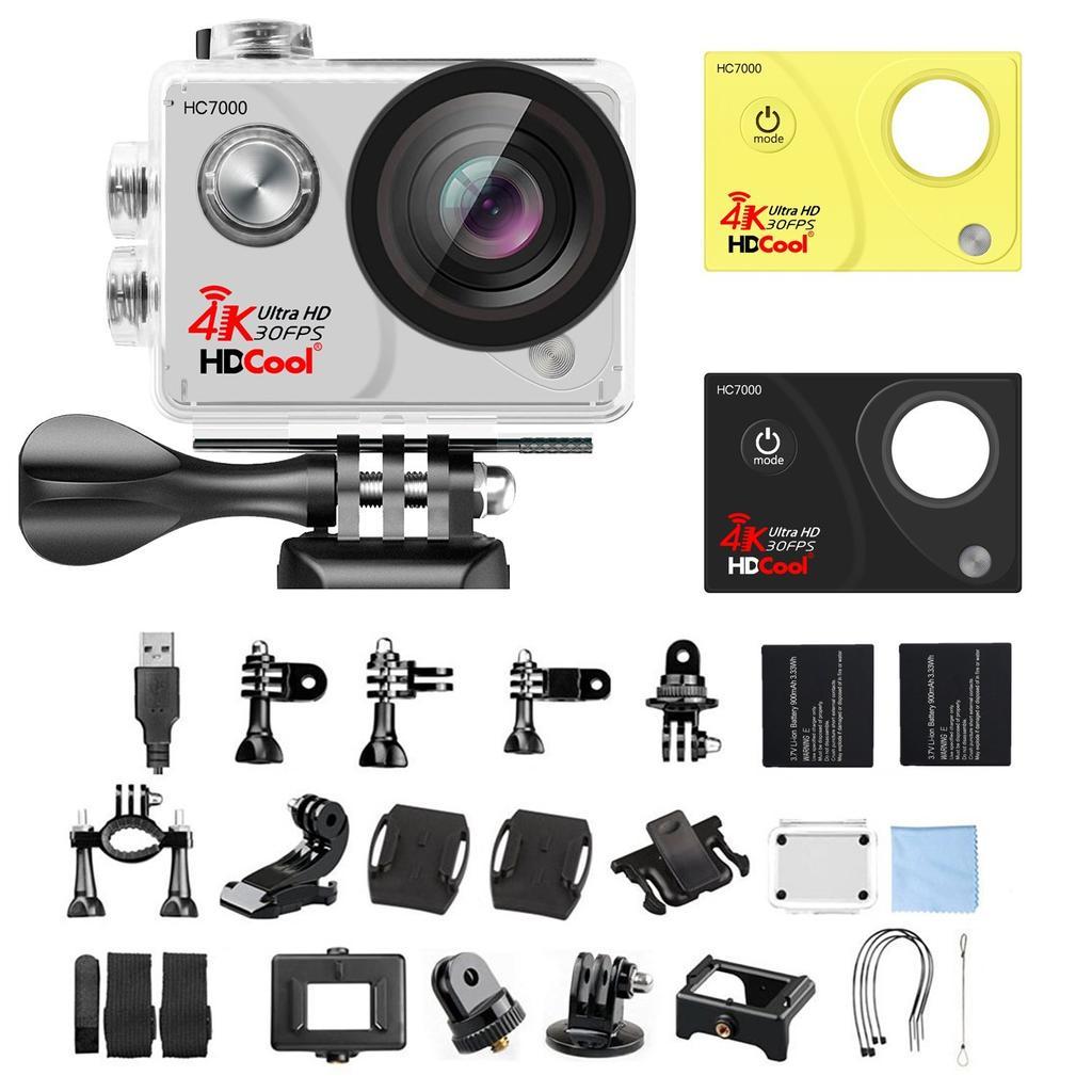 Accesorios incluidos en la cámara HDCool 4K