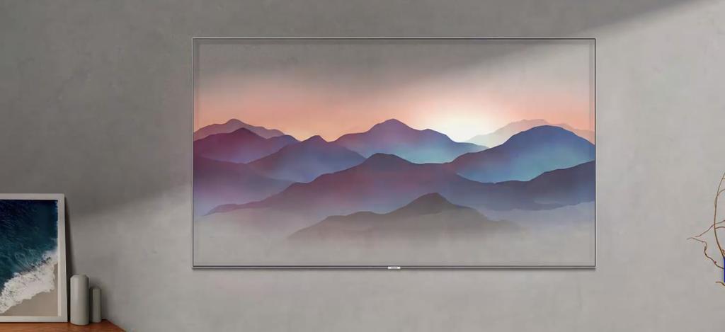 Ambient mode en Samsung QLED 2018
