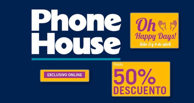 Ofertas Oh Happy Days! de Phone House