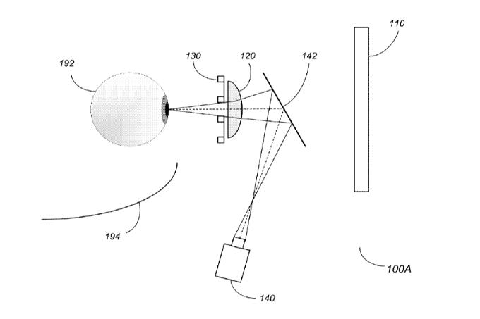 patente para las Apple Glasses