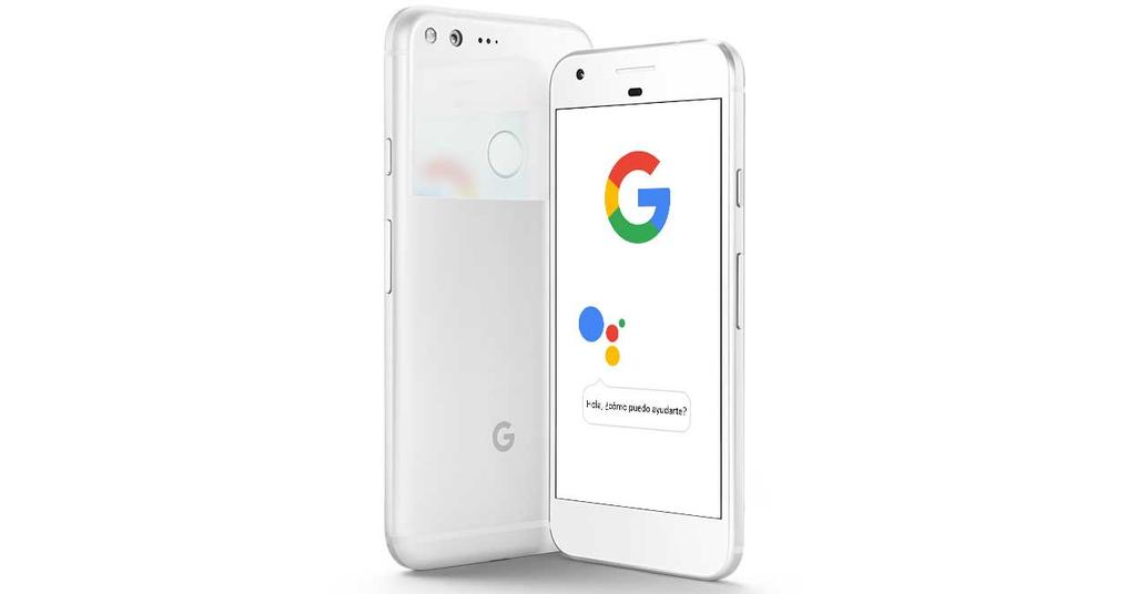Asistente de Google en teléfono Pixel