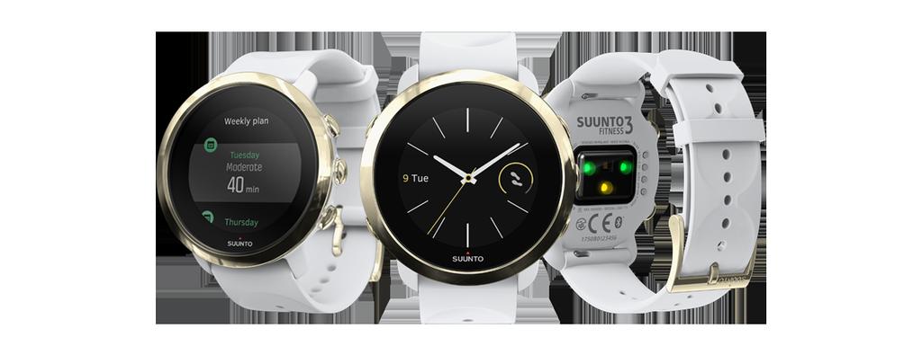 Diseño del reloj inteligente Suunto 3 Fitness