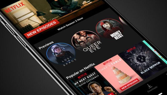 Avances en aplicación Netflix