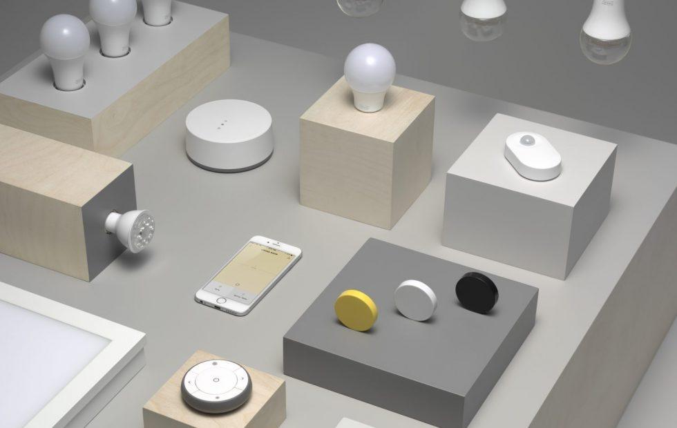Bombillas inteligentes de IKEA de la gama Tradfri