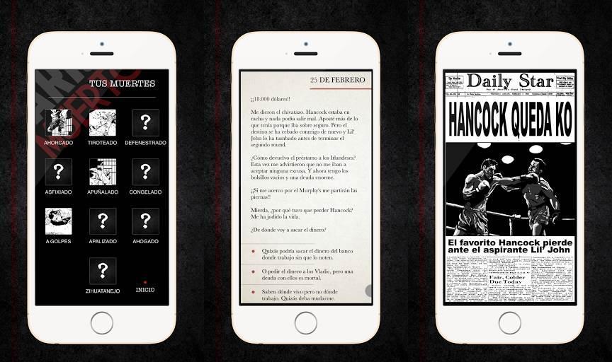 Juego Android Diarios de un muerto