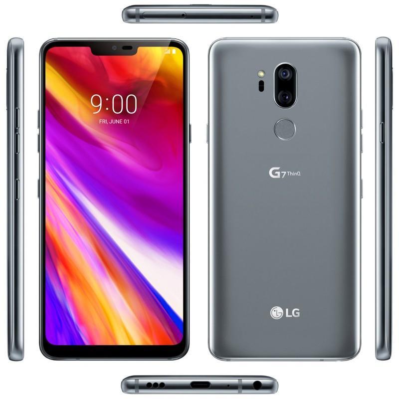 Diseño final del LG G7 ThinQ