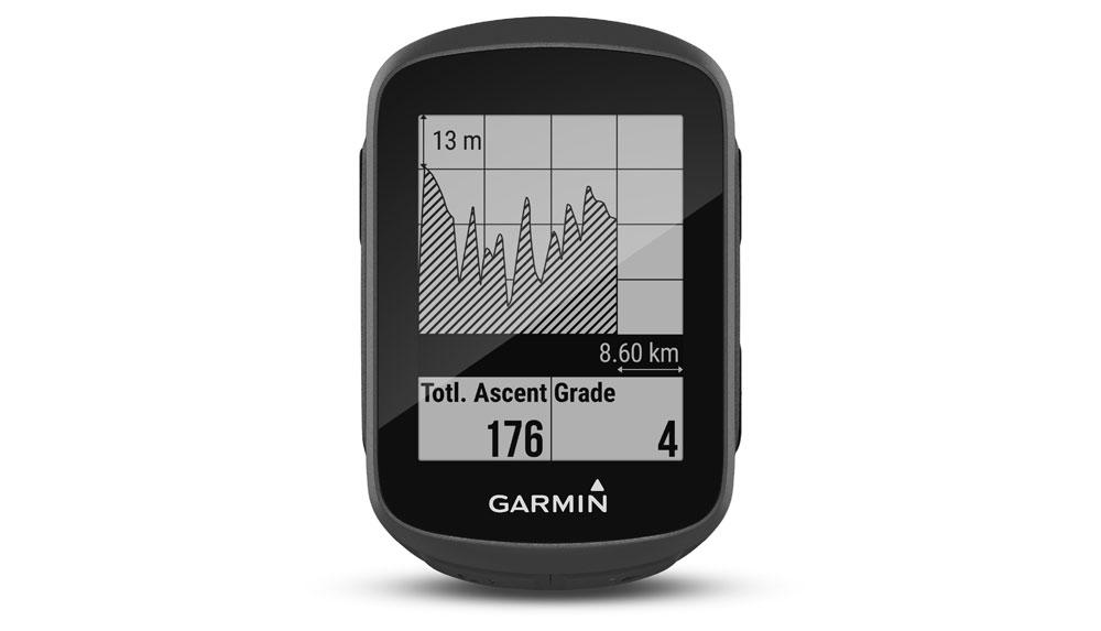 Imagen frontal del accesorio Garmin Edge 130