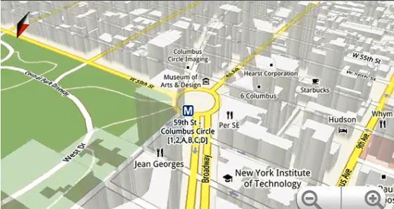 Imagen Google Maps en 3D