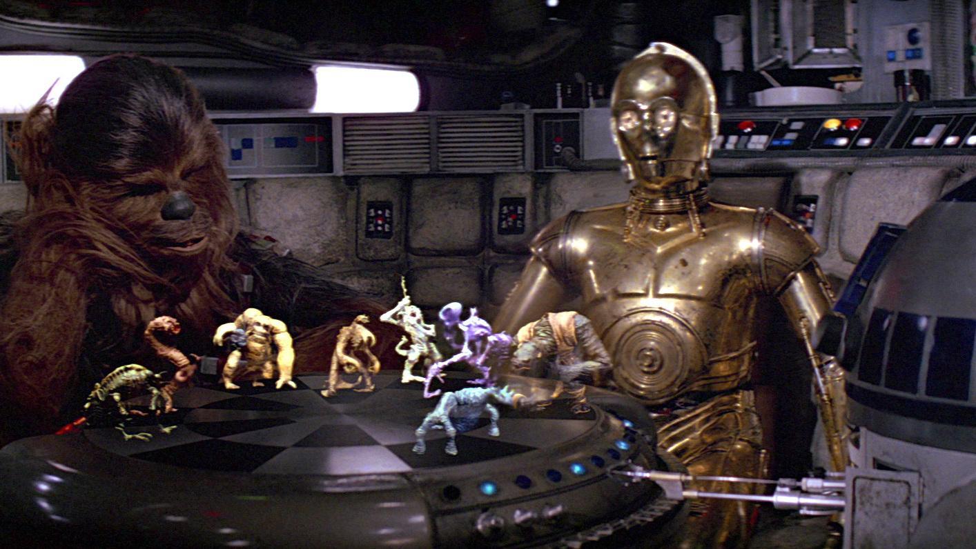 Holochess en la películas Star Wars