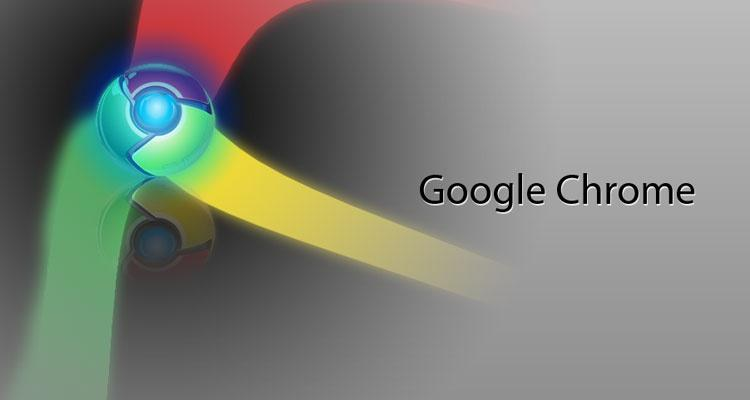 Logotipo de Google Chrome con fondo gris