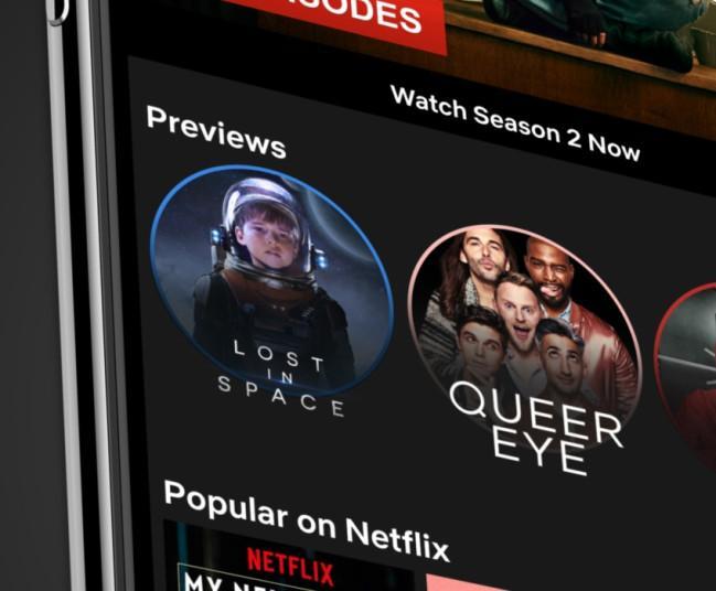 Imagen de los avances de Netflix