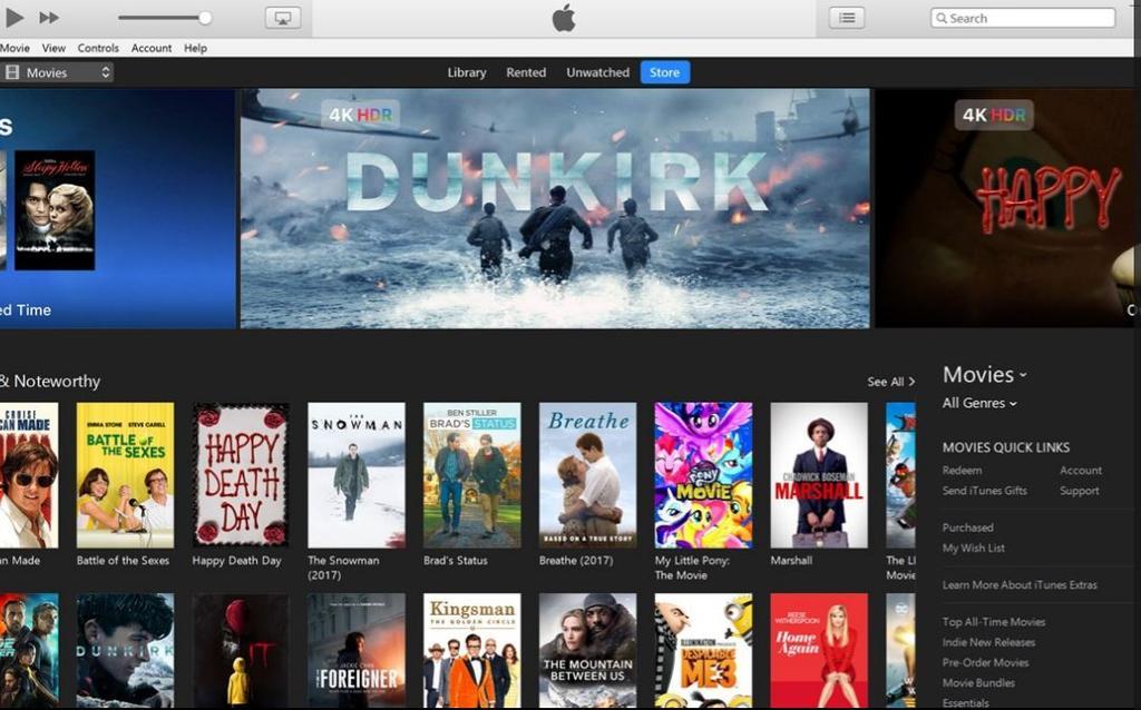 Interfaz de iTunes