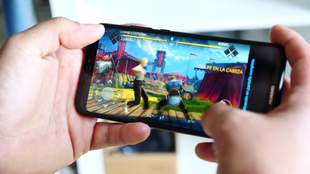 Ejecución de juego en el Huawei P20 Lite